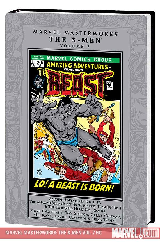 Marvel Masterworks: The X-Men Vol. 7 (Hardcover)