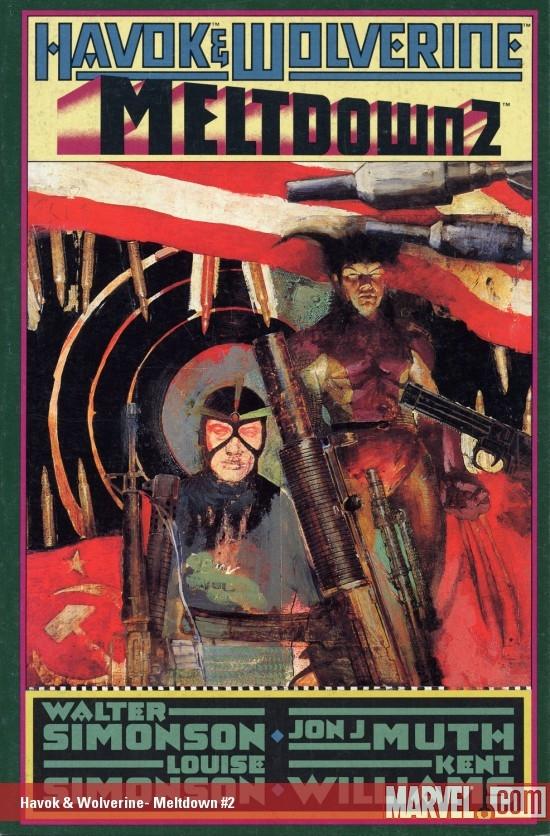 Havok & Wolverine: Meltdown (1988) #2