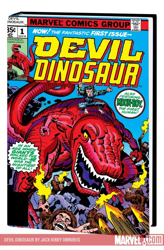 Devil Dinosaur by Jack Kirby Omnibus (Hardcover)
