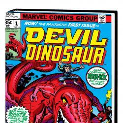 Devil Dinosaur by Jack Kirby Omnibus