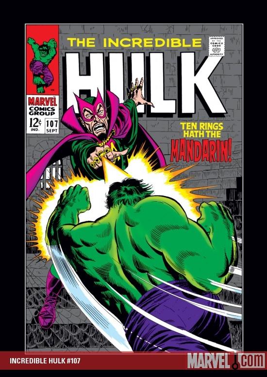 Incredible Hulk (1962) #107