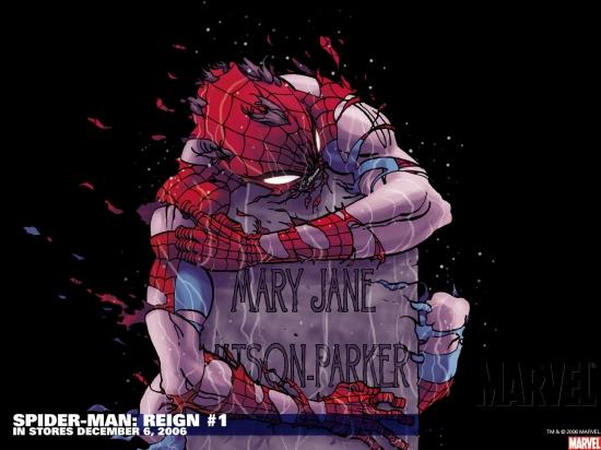 Spider-Man: Reign (2006) #1 Wallpaper