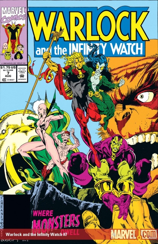 Warlock and the Infinity Watch (1992) #7