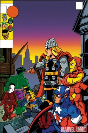 New Avengers (2010) #4 (SHS VARIANT)