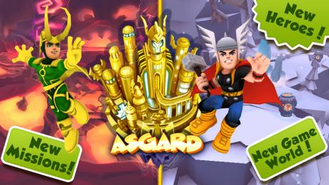 Super Hero Squad Online Asgard Expansion Now Live