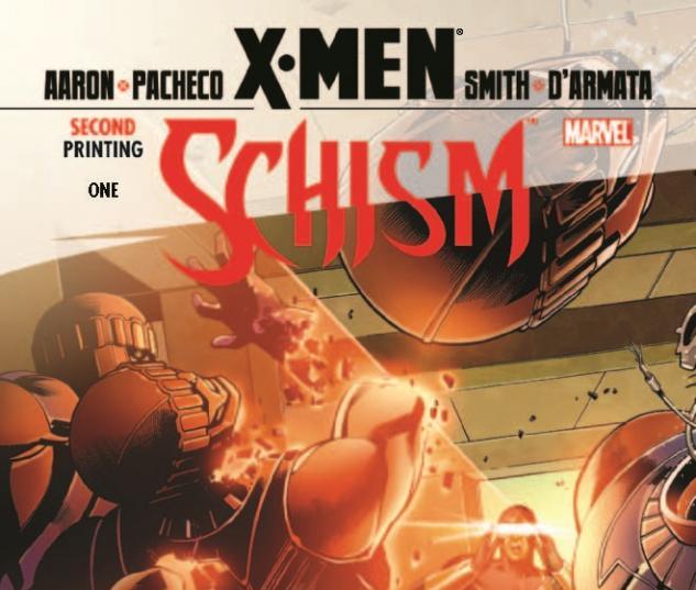 X-Men: Schism (2011) #1, 2nd Printing Cyclops Variant
