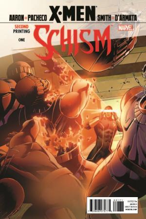 X-Men: Schism (2011) #1 (2nd Printing Cyclops Variant)
