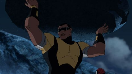 Luke Cage shows why they call him Power Man in Marvel's Ultimate Spider-Man