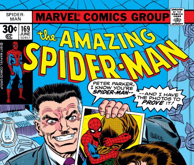 Amazing Spider-Man (1963) #169 Cover