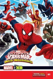 MARVEL UNIVERSE ULTIMATE SPIDER-MAN: WEB WARRIORS (2014) #1
