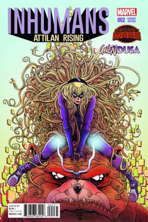 Inhumans: Attilan Rising #2  (Stokoe Gwendusa Variant)