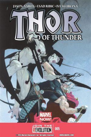 Thor: God of Thunder (2012) #5