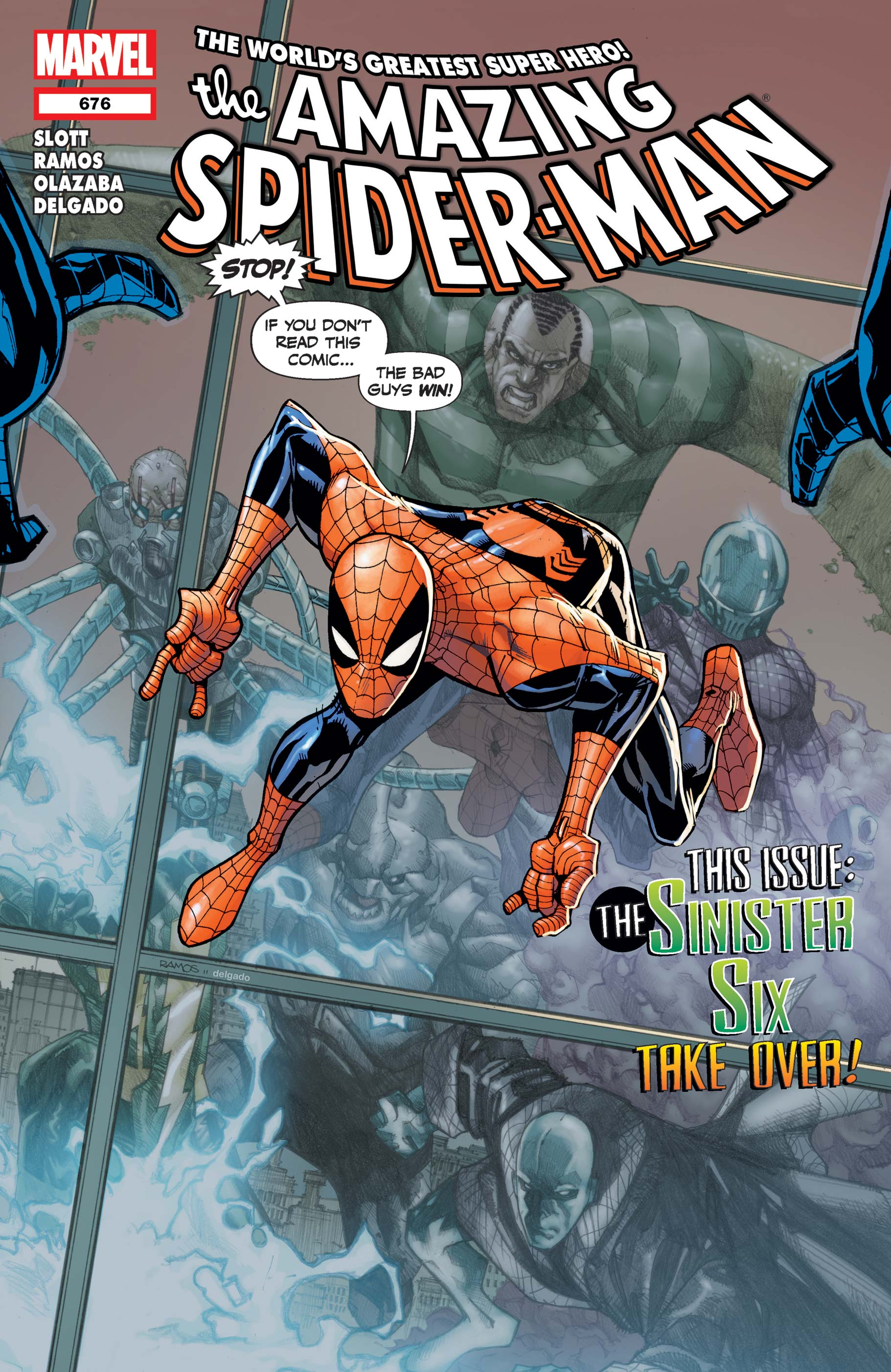 Amazing Spider-Man (1999) #676