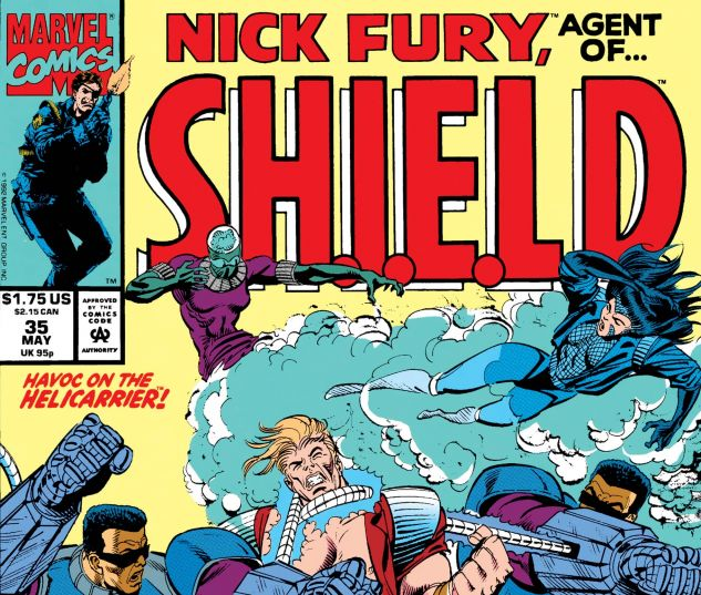 Nick Fury, Agent of Shield (1989) #35