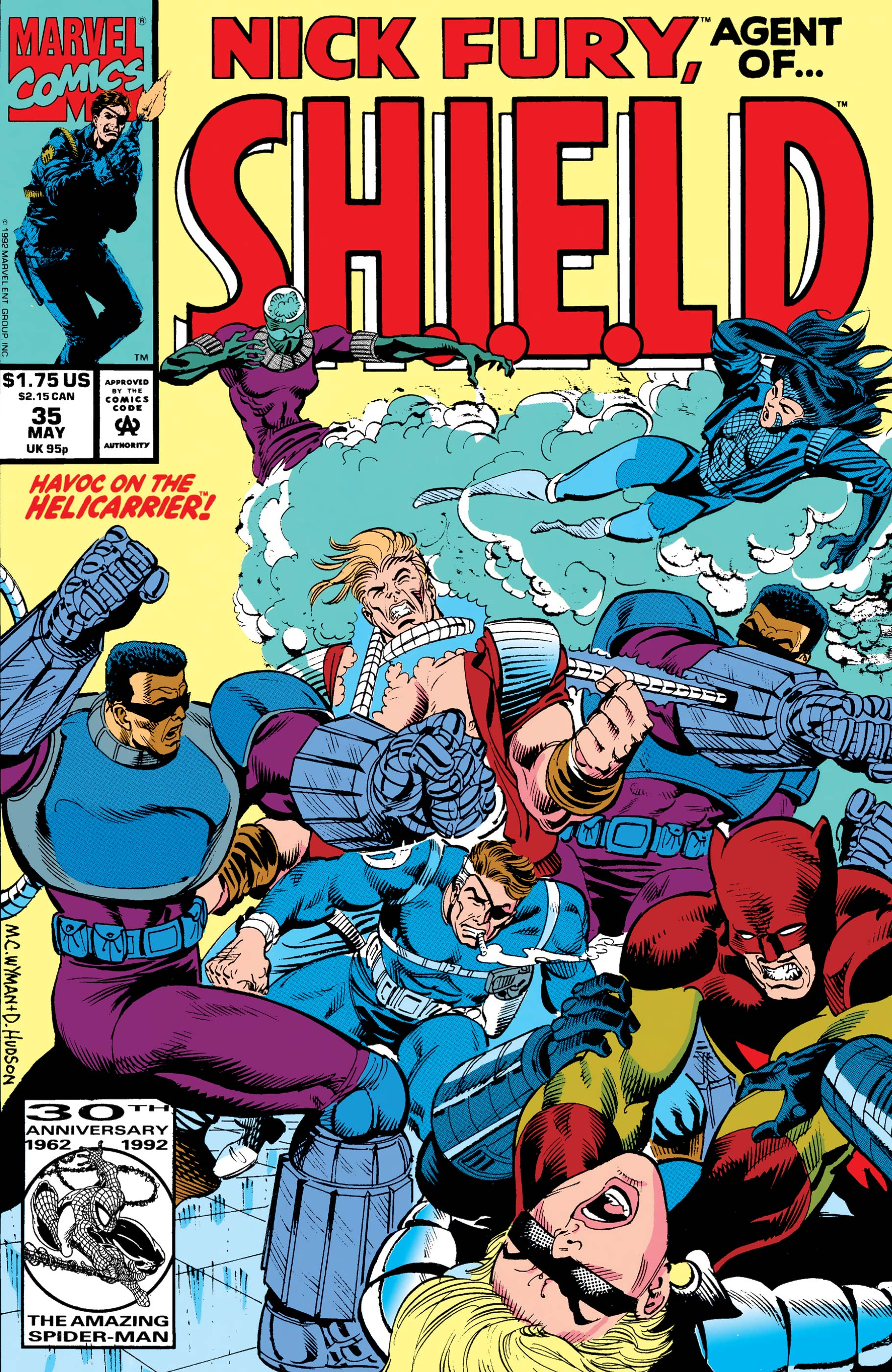 Nick Fury, Agent of S.H.I.E.L.D. (1989) #35