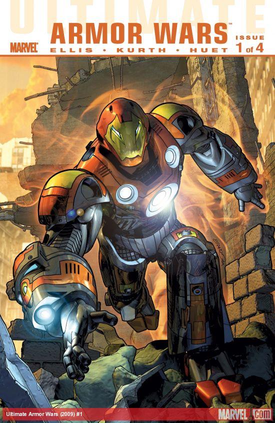Ultimate Comics Armor Wars (2009) #1