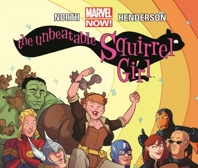 cover from The Unbeatable Squirrel Girl (2015)