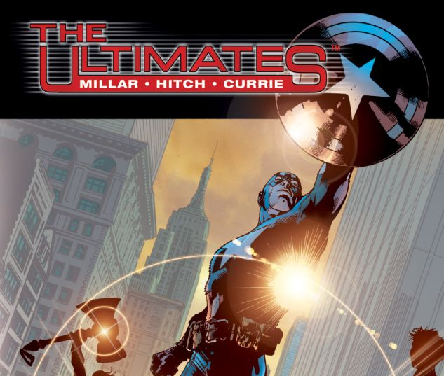 ULTIMATES VOL. 1: SUPER-HUMAN TPB 0 cover
