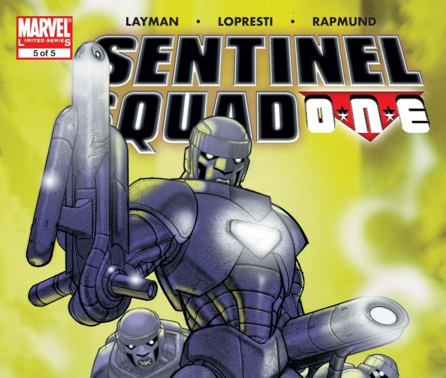 SENTINEL SQUAD O*N*E (2006) #5