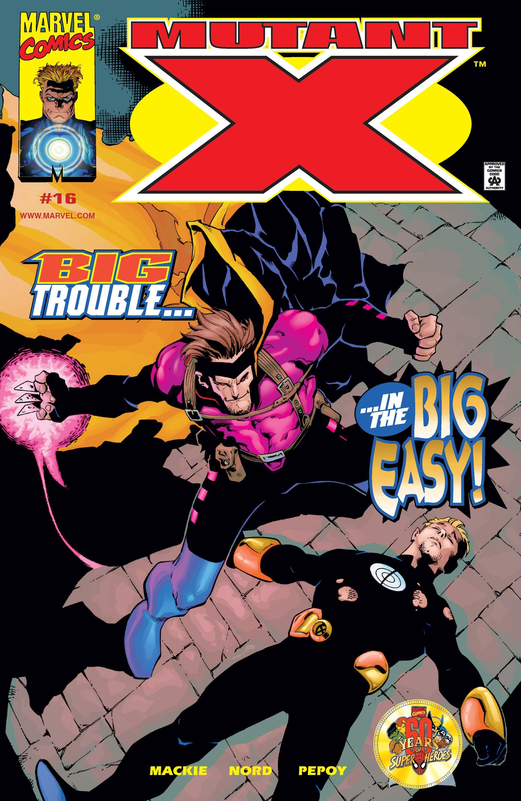 Mutant X (1998) #16