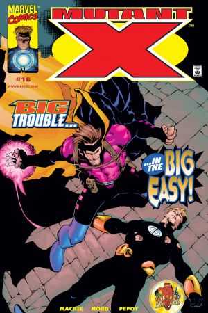 Mutant X #16