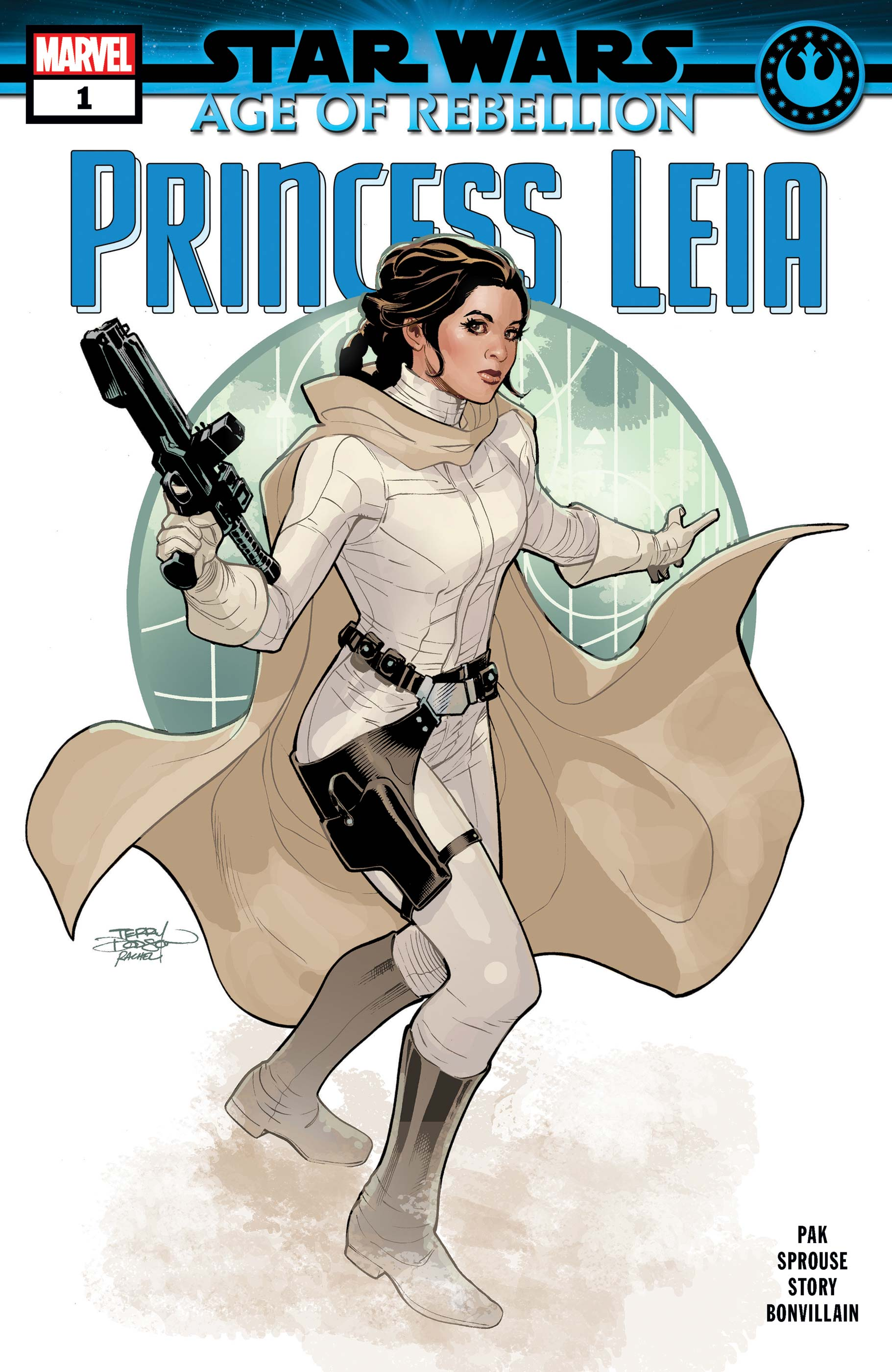 Marvel Comics Star Wars Age of Rebellion PRINCESS LEIA #1 first print movie Superhero