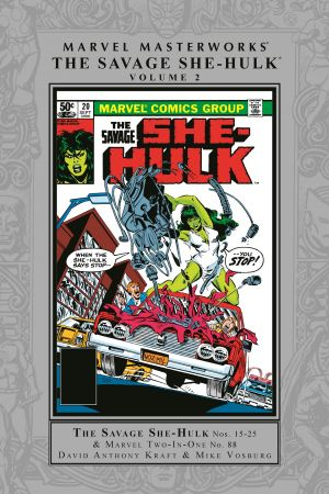 Savage She-Hulk Masterworks Vol. 2 (Hardcover)