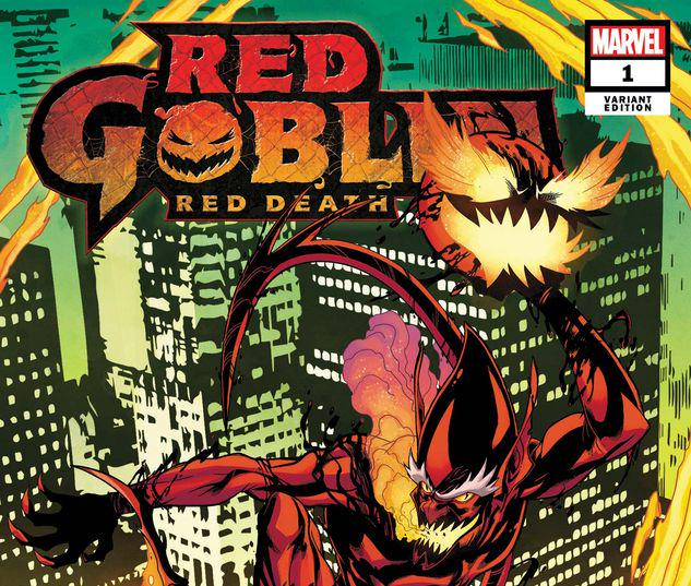 RED GOBLIN: RED DEATH 1 LUBERA VARIANT #1