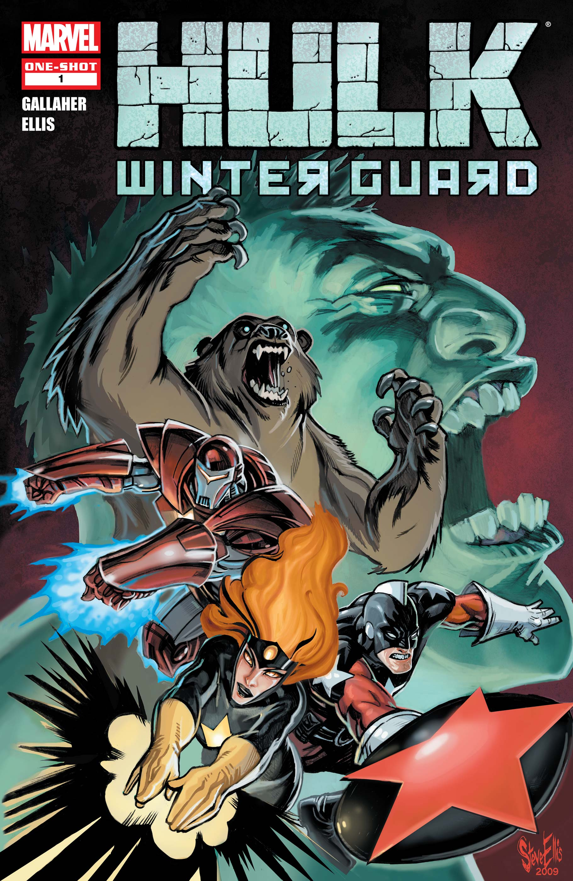 Hulk: Winter Guard (2009) #1