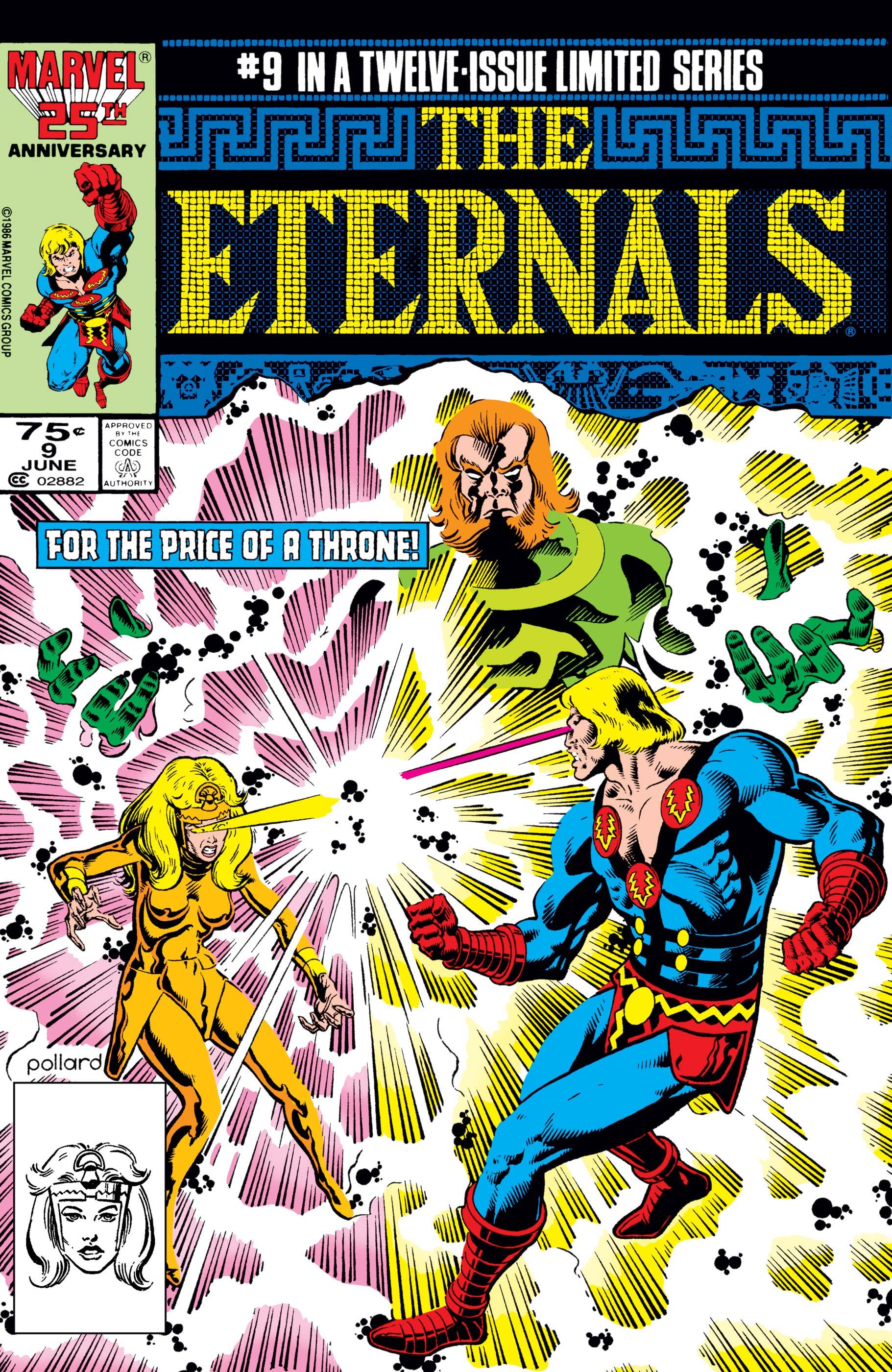 The Eternals (1985) #9