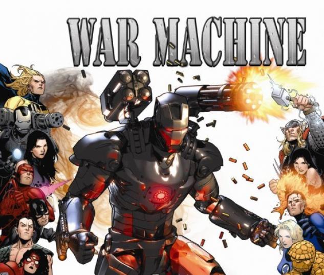 WAR MACHINE #9 (70TH FRAME VARIANT)