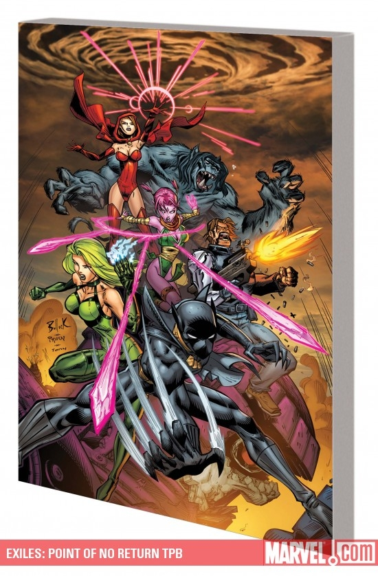 Exiles: Point of No Return (Trade Paperback)