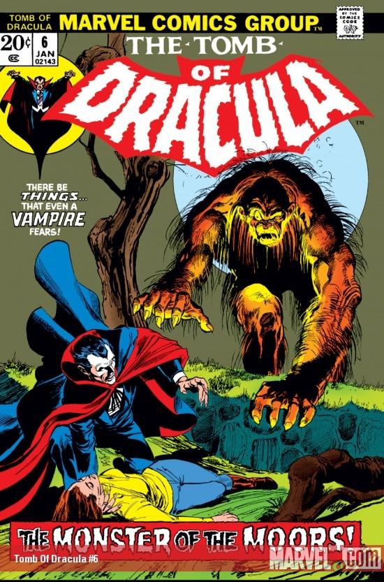 Tomb of Dracula (1972) #6