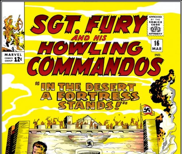 Sgt. Fury and His Howling Commandos #16