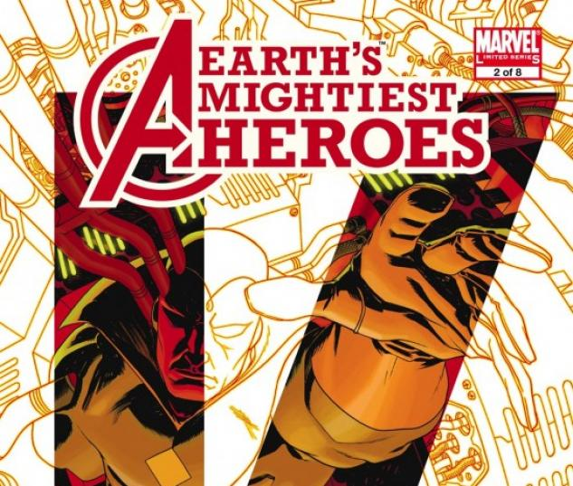 AVENGERS: EARTH'S MIGHTIEST HEROES II (2008) #2 COVER