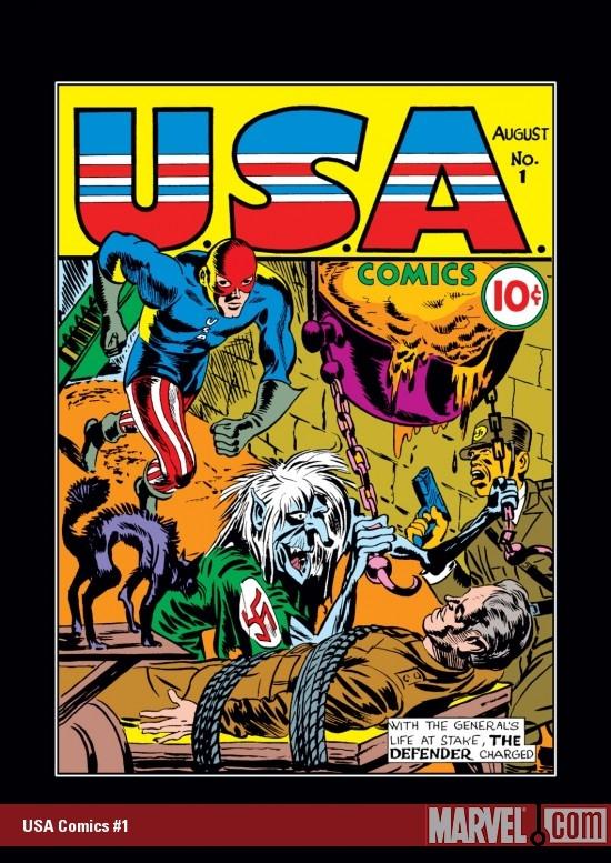 U.S.A. Comics (1941) #1