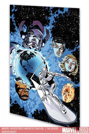 Marvel Adventures Fantastic Four Vol. 7: The Silver Surfer (Digest)