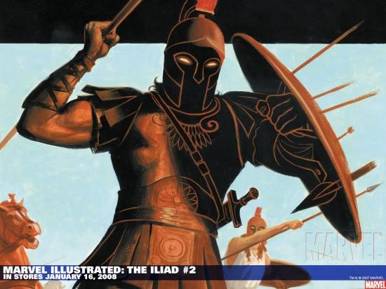 Marvel Illustrated: The Iliad (2007) #2 Wallpaper