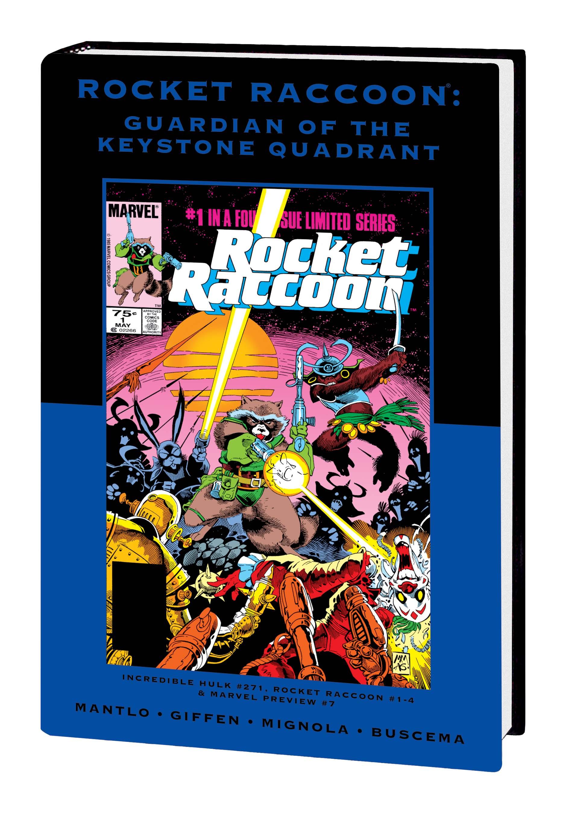 ROCKET RACCOON: GUARDIAN OF THE KEYSTONE QUADRANT PREMIERE HC (Hardcover)