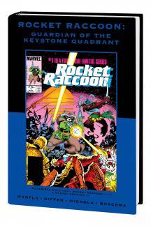 ROCKET RACCOON: GUARDIAN OF THE KEYSTONE QUADRANT PREMIERE HC (DM VARIANT) (Hardcover)