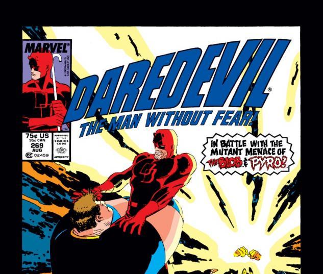 Daredevil (1963) #269 Cover