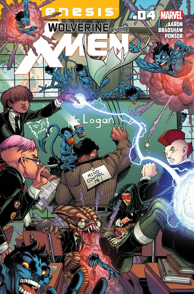 Wolverine & the X-Men (2011) #4