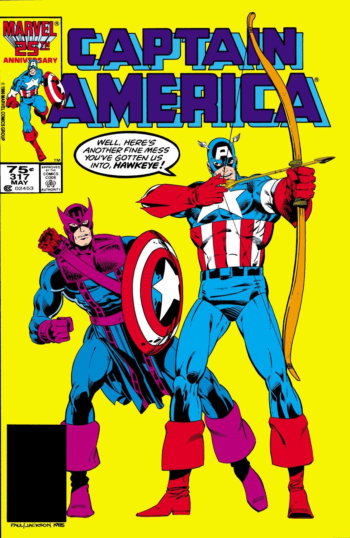 Captain America (1968) #317