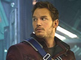 Marvel's Guardians of the Galaxy - Chris Pratt and Zoe Saldana Interview master