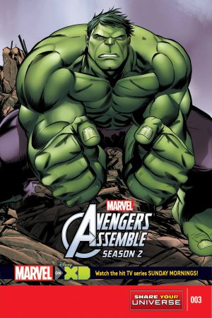 Marvel Universe Avengers Assemble Season Two #3