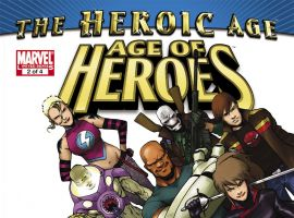 Age of Heroes (2010) #2 Cover