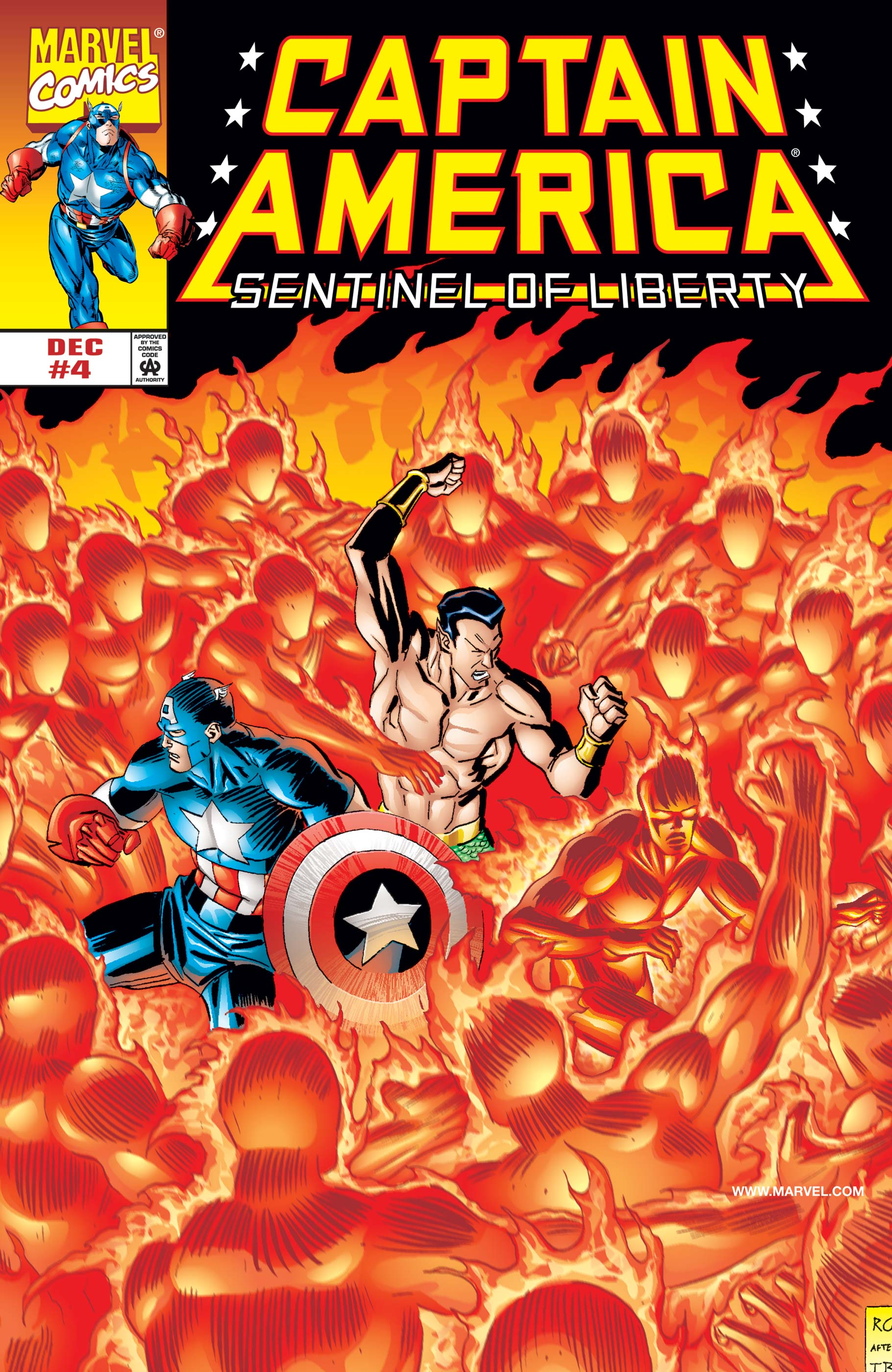 Captain America: Sentinel of Liberty (1998) #4