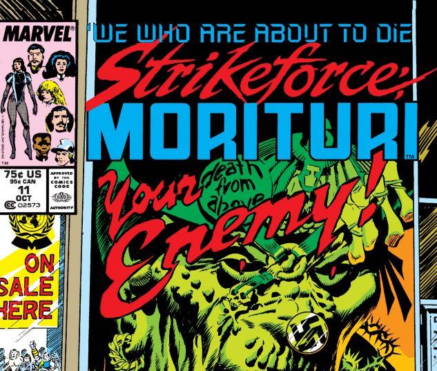 Strikeforce: Morituri (1986) # 11