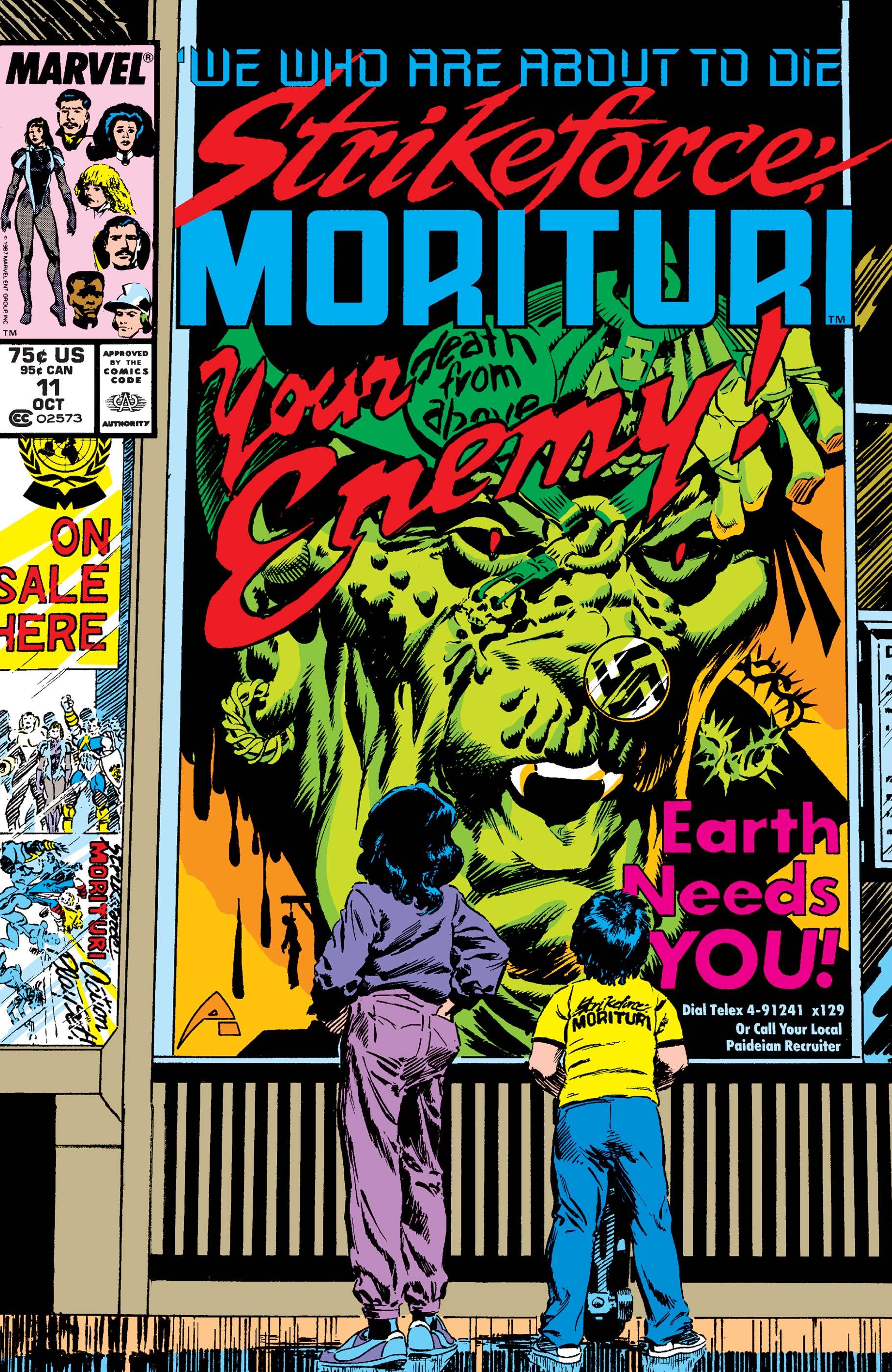 Strikeforce: Morituri (1986) #11