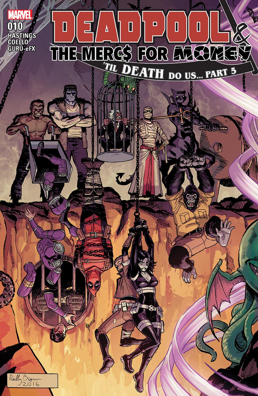 Deadpool & the Mercs for Money (2016) #10